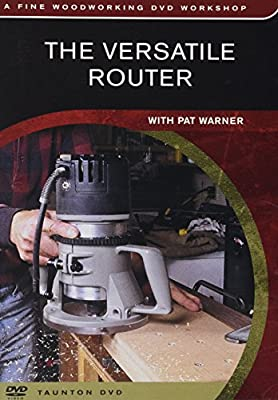 The Versatile Router with Pat Warner by Peachtree Woodworking