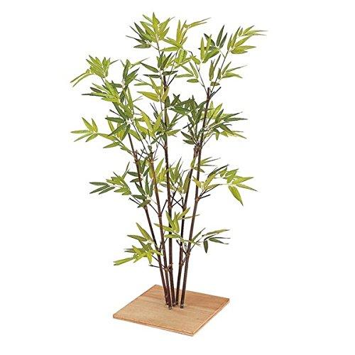 『人工植栽』 タカショー グリーンデコ和風 ミニ黒竹5本立 80cm GD-75 B07P7K3J7G