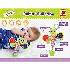 Infant Toys 0 6 Month Baby Rattle Girls Boys Newborn Toys 0 3