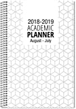 """The School Planner Company Student Planner Academic Year August 2018 - July 2019/5.5"""" X 8.5"""""""
