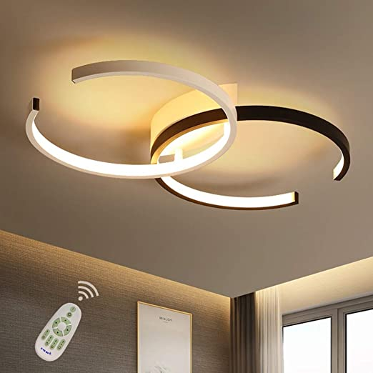 LED Ceiling Light Dining Room Fixture Flush Mount Dimmable ...