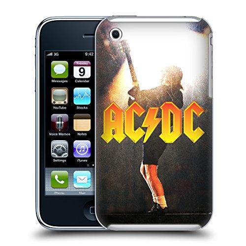 Officiel AC/DC ACDC Angus Young Concerte Solo Étui Coque D'Arrière Rigide Pour Apple iPhone 3G / 3GS