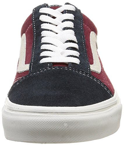 Vans U Old Skool Vintage - Zapatillas bajas unisex Vintage/Blue Graphite/Windsor Wine