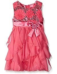 Girls' Sequin Corkscrew Dress