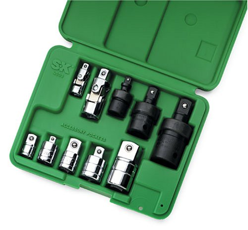SK 4010 10 Piece 1/4-Inch and 3/8-Inch Drive Adapter Set