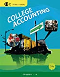 Bundle: College Accounting, Chapters 1-15, 20th + K & A General Ledger Software, James A. Heintz, Robert W. Parry, 1111086974
