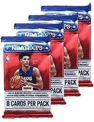 2017 - 2018 NBA Hoops Factory Sealed Basketball Cards - 4 Pack! GUARANTEED UNIVERSAL BONUS!!!