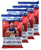 2017 - 2018 NBA Hoops Factory Sealed Basketball Cards - 4 Pack! GUARANTEED UNIVERSAL BONUS!!!