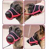 Heele Dog Muzzle Nylon Soft Muzzle Anti-Biting
