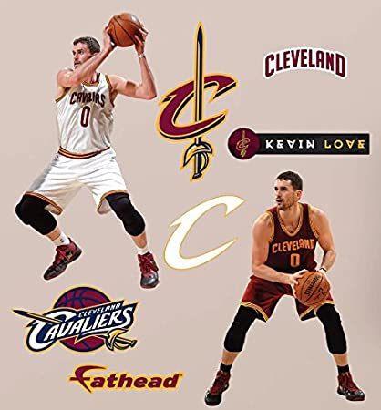 d2a3be5fa87 Image Unavailable. Image not available for. Color  Kevin Love FATHEAD  Cleveland Cavaliers Set ...