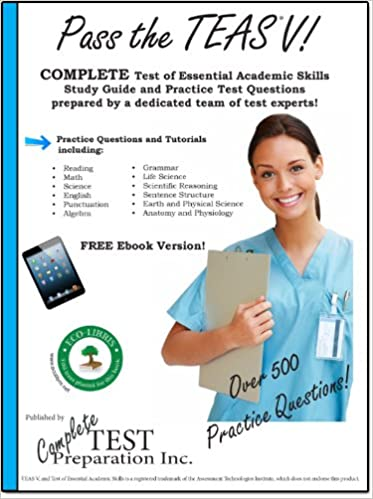 Amazon pass the teas v a complete test of essential academic pass the teas v a complete test of essential academic skills study guide with teas practice test questions kindle edition fandeluxe Choice Image