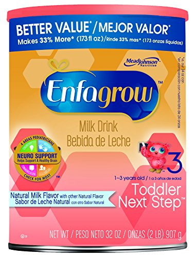 - Enfagrow Next Step Premium Toddler Next Step Natural Milk Powder, 32 Ounce Can