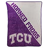 The Northwest Company NCAA Halftone Micro Raschel Throw, 46'' x 60'' (Texas Christian Horned Frogs)