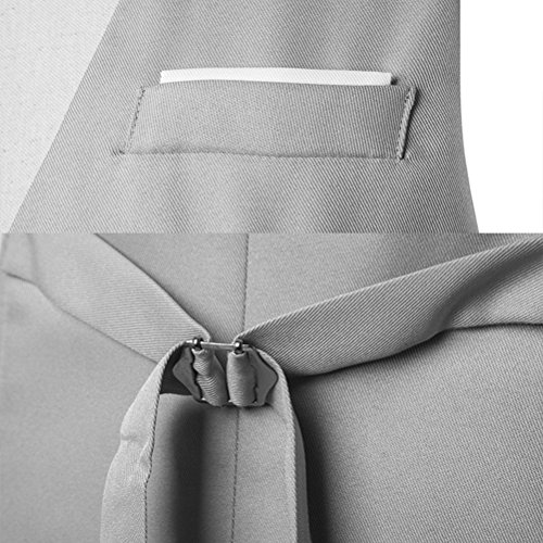 Waistcoat Men's Formal Jacket Business Casual Jacket Blazer negro Zhhlaixing Respirable 5qvxw0t