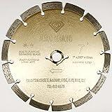 #1: ALSKAR DIAMOND ADLSS 7 inch Dry or Wet Cutting General Purpose Power Saw Segmented Diamond Blades for Concrete Stone Brick Masonry (7