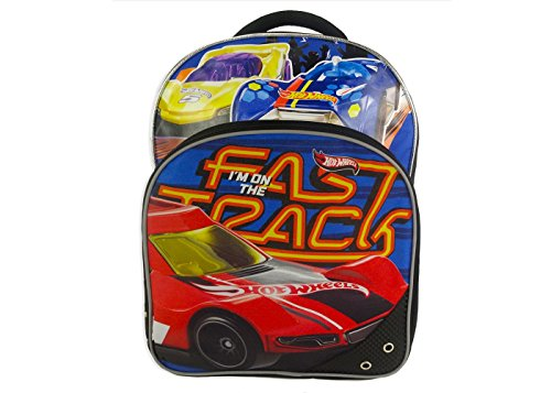 Hot Wheels Backpack for Boys Kids ~ Deluxe 16