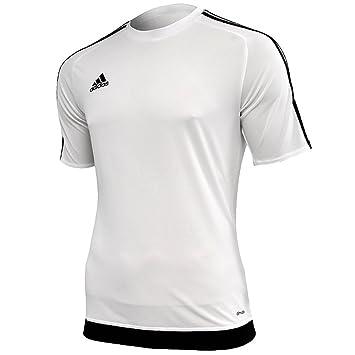 Adidas Herren Fussballtrikot Estro 15 Weiss Schwarz Xxl S16146