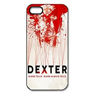 CiCi Mode Bloody TV Shows Dexter Case Cover for Apple iPhone 5/5S Hard Protective Phone Case Cover