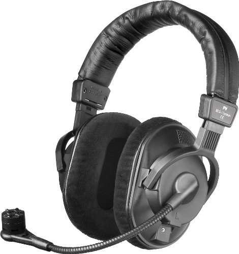Beyerdynamic DT-297-PV-MKII-250 Headset with Cardioid Condenser Microphone for Phantom Power, 250 Ohms by beyerdynamic
