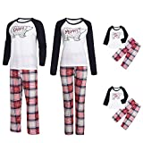 Family Christmas Pajamas Sets Family Matching Outfits Matching Family Christmas Pajamas Daddy Mommy Kids Family Outfits