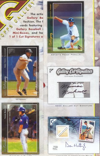 (2005 Topps Gallery Baseball HOBBY Box - 20P5C)