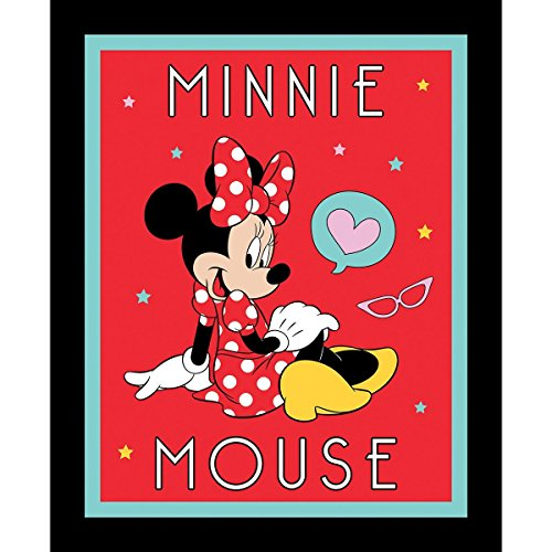 Disney Minnie Mouse Fabric Sold by the Panel Minnie Mouse Fabric