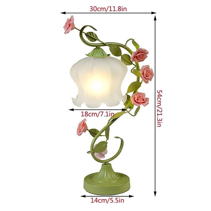 Amazon.com: Nordic LED Table Lamps, Romantic Creative Green ...