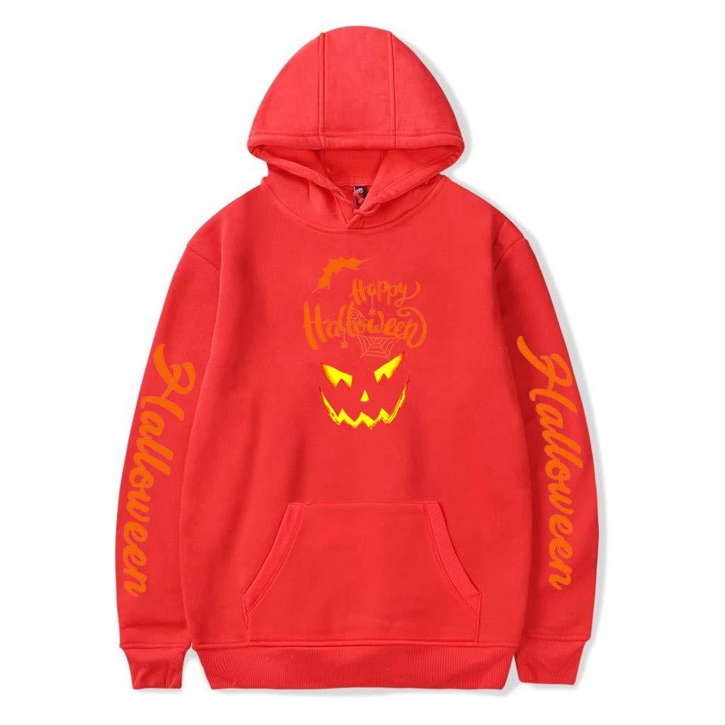iHAZA Sweat-Shirt /à Capuche Pull /à Capuchon Halloween /à Manches Longues imprim/é 3D pour Couple t Shirt