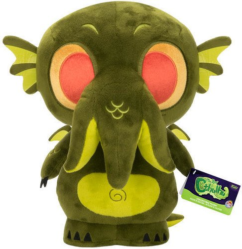 Funko Supercute Horror Cthulhu Dark Green Plush Collectible 12 Funko Plush: 23544 Accessory Toys & Games