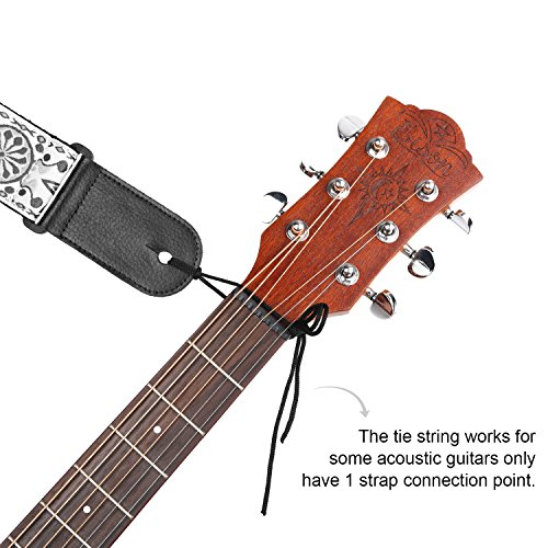 other accessories guitar strap anwenk acoustic guitar strap bass guitar strap for kids adult. Black Bedroom Furniture Sets. Home Design Ideas