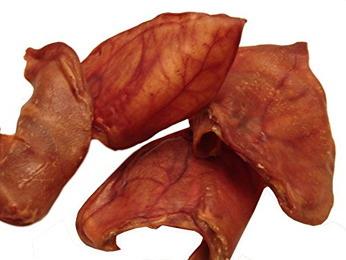 Sawmill Creek Smokehouse Pig Ears 25 Pack Jumbos Sourced and Made in USA Human Grade Type 1 All Natural
