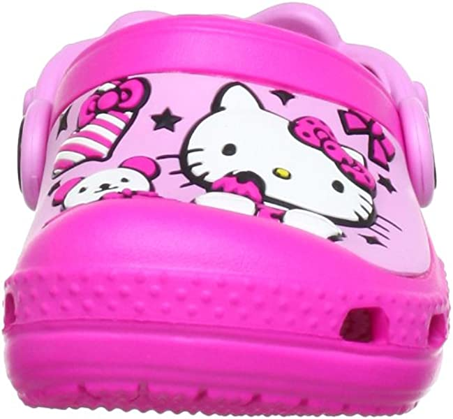 4590178fbcb6 Crocs Creative Hello Kitty Candy Ribbons Neon Magenta Carnation ...
