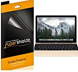 [3-Pack] Supershieldz- High Definition Clear Screen Protector For New MacBook 12 inch (2015 VERSION) + Lifetime Replacements Warranty - Retail Packaging