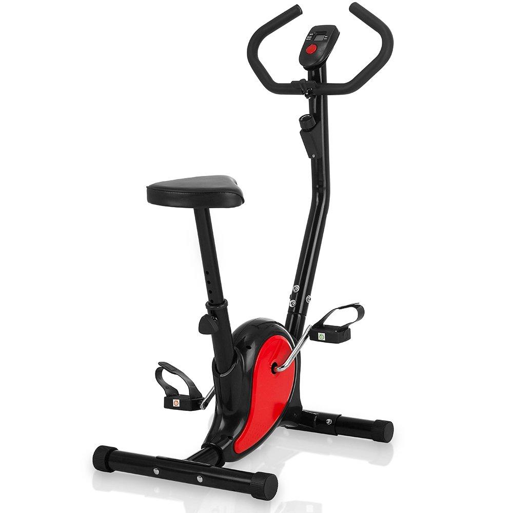 Fahrrad-Heimtrainer, kompakt, einfache Lagerung, ideal für das Training ohne das Haus zu verlassen