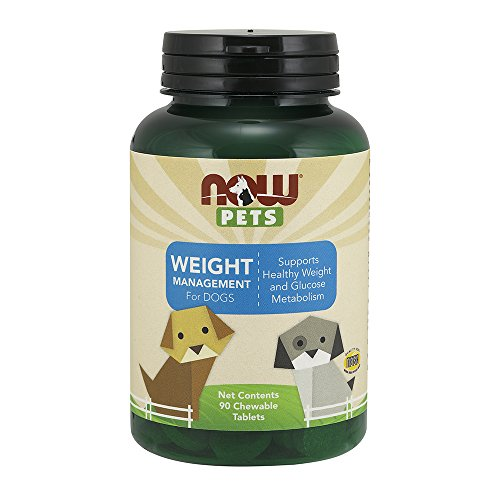 Now Pets Weight Management Chewable Tablets for Dogs, 90 Tablets