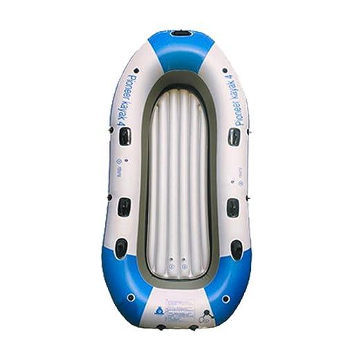 Kayak Bote Inflable Barco De Pesca Grueso Resistente Al Desgaste ...