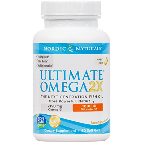 Ultimate Omega 2X Vitamin Supplement product image