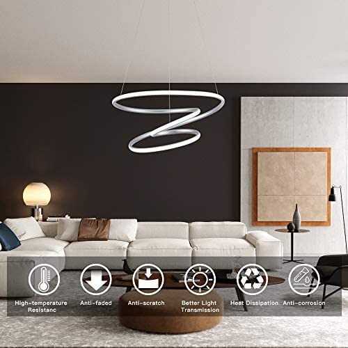 WELAKI LED Modern Pendant Light