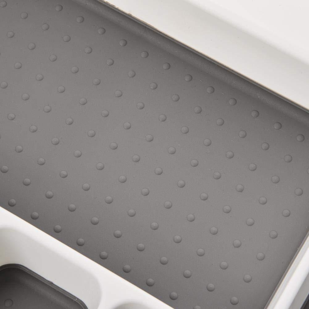 tidystore Caj/ón De 6 Compartimentos Bandeja De Cubiertos Cubiertos De Pl/ástico Caja De Almacenamiento