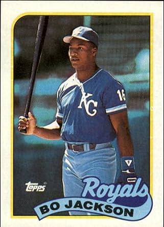 Amazoncom 1989 Topps Baseball Card 540 Bo Jackson Mint