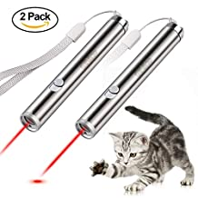 ONine Cat Chaser Toys, Cat Laser Pointer Pet Cat Catch The LED Light Pointer Mini Flashlight & Interactive Pet Toys Cat Light Pointers Cat Training Tool
