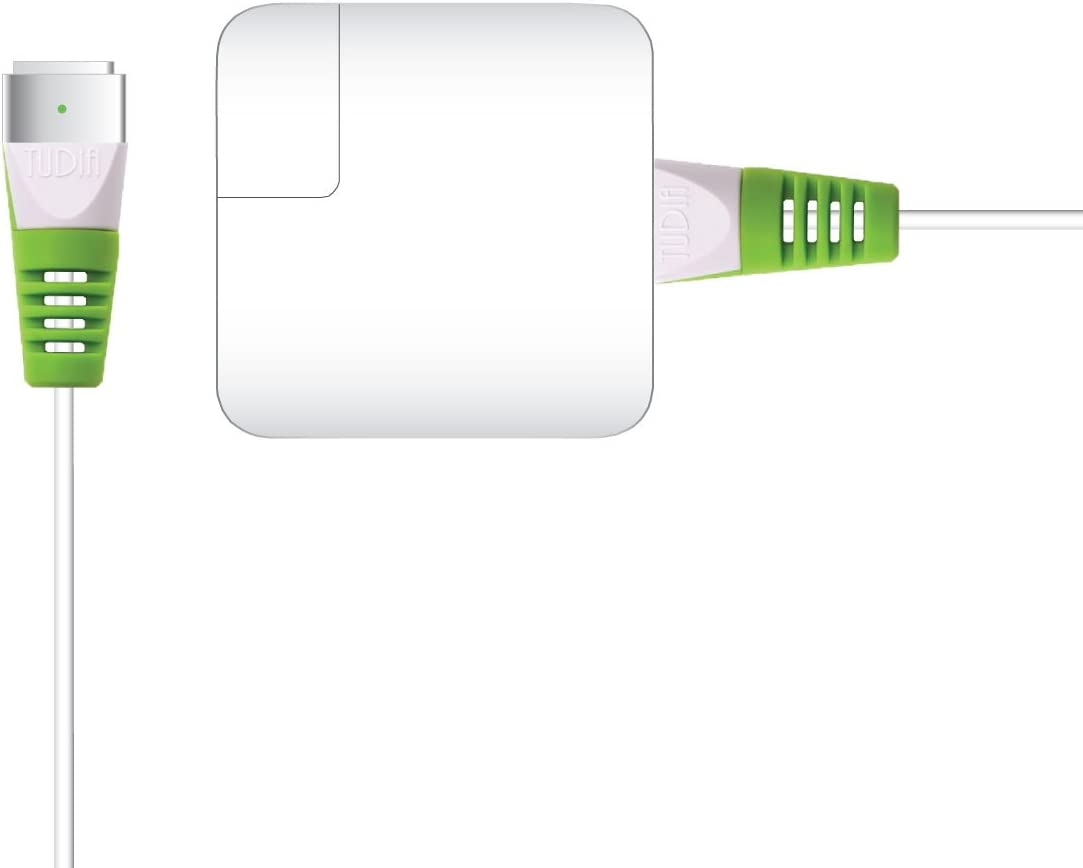 TUDIA KLIP Charging Cable Protector Saver Organizer Protective Wire Cord Sleeve Compatible for MacBook (Green)