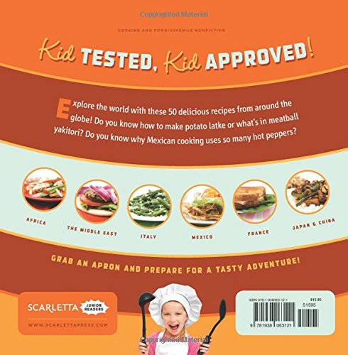 Cool World Cooking: Fun and Tasty Recipes for Kids! by Brand: Scarletta Junior Readers (Image #2)