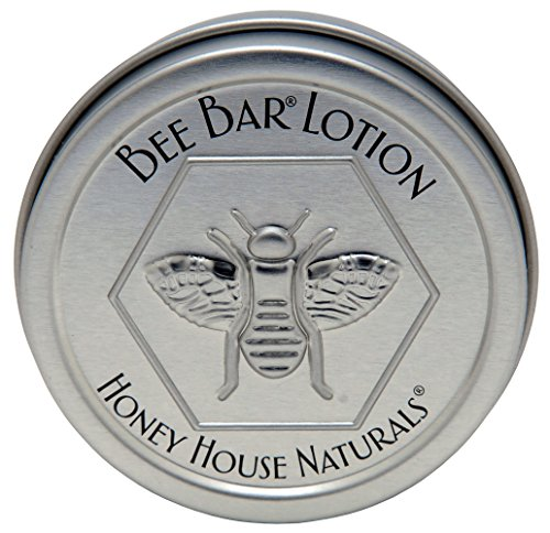 Honey House Naturals Small Bee Bar Lotion, Natural, 0.6 Ounce ()