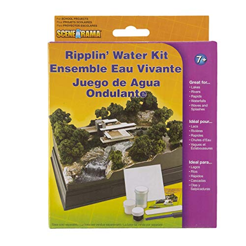 Woodland Scenics SP4122 Scene-A-Rama™ Ripplin' Water Kit, Multicolor