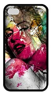 Alluring Marilyn Monroe TPU Material Cool Black Case For iPhone 6 4.7 by Topmousepad 140401310