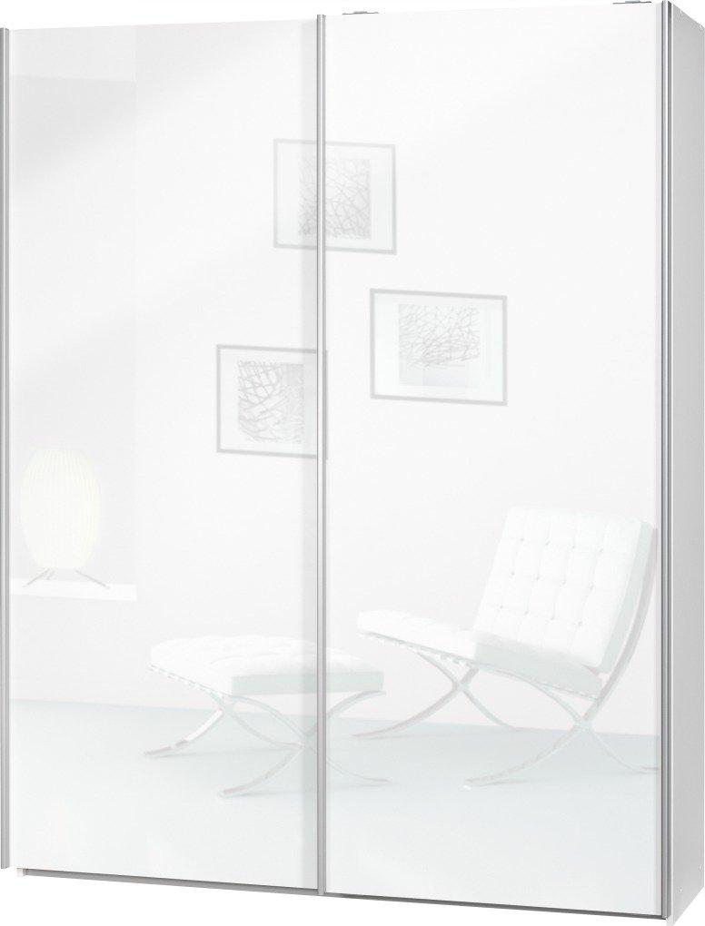 """Schwebetürenschrank weiß 150 breit  Schwebetürenschrank """"Soft Plus Smart Typ 41"""", 150 x 194 x 42cm ..."""