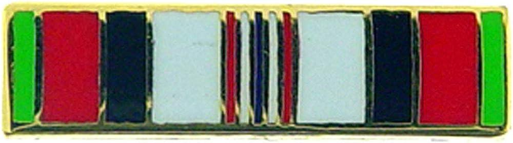 Military Ribbon Afghanistan Campaign 0.6875 Expertly Designed PIN U.S Original Artwork