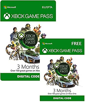 Xbox Game Pass | 3 Month + 3 Month FREE | Xbox Live Download