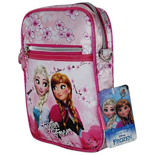 Disney Frozen Blossom Borsa a Spalla a Tracolla Porta Tablet Ipad Ebook
